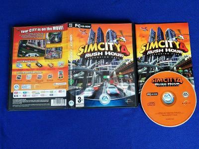 PC - SIMCITY 4 RUSH HOUR expans.pack (retro 2003) Top