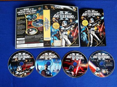 PC - STAR WARS BATTLEFRONT 2 - velké vydání (retro 2004-2005) Top