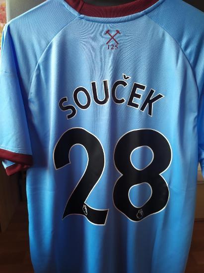 Fotbalový dres, Tomáš Souček, FC West Ham United  - Sportovní sbírky