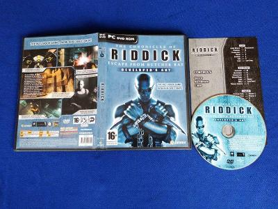 PC - THE CHRONICLES OF RIDDICK ESCAPE FROM BUTCHER BAY (retro 2004)Top