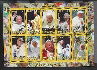 Papež Jan Pavel II. - Džibuti 2012  1.