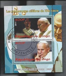 Papež Jan Pavel II. - Kongo 2012  1.