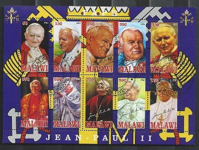Papež Jan Pavel II. - Malawi 2012  2.