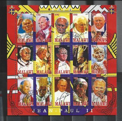 Papež Jan Pavel II. - Malawi 2012  3.
