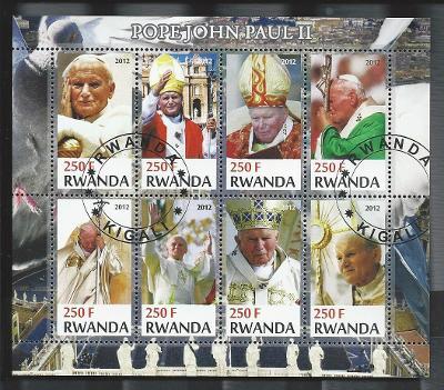 Papež Jan Pavel II. - Rwanda 2012  1.
