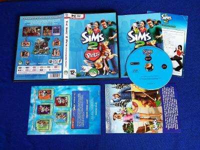 PC - THE SIMS 2 PETS expans.pack - CZ (retro 2006)