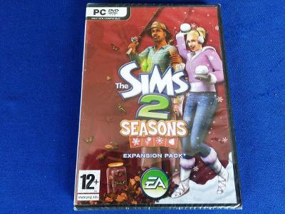 PC - THE SIMS 2 SEASONS expans.pack - CZ (retro 2007) NOVÉ VE FOLII