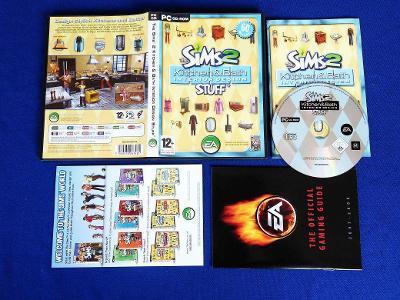 PC - THE SIMS 2 KITCHEN a BATH STUFF exp.pack (retro 2008) Top