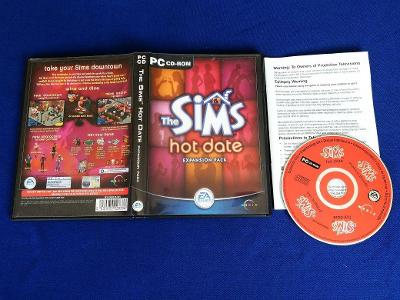 PC - THE SIMS HOT DATE (retro 2001) Top