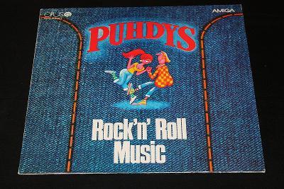 LP - Puhdys - Rock'N' Roll Music   (d3)