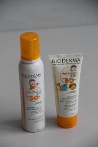 sada pěna a krém na opalování Bioderma Kid 50+   VÍC V POPISU
