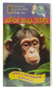 KRÁSNÉ dětské filmy na VHS: National Geographic. Originály od Korunky!