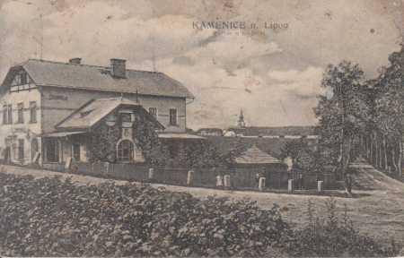 Kamenice nad Lipou- partie u nádraží