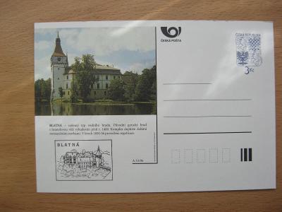 ** CDV A 33/96 - BLATNÁ - nížinný typ vodního hradu ze 14. století