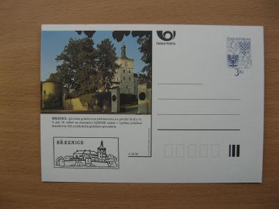** CDV A 34/96 - BŘEZNICE - původní gotická tvrz přebudovaná na hrad