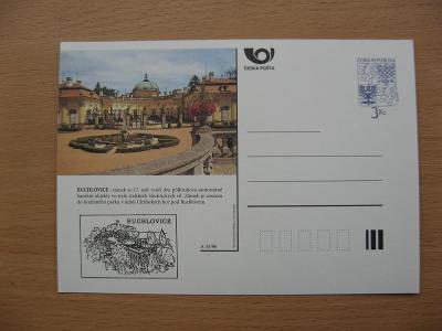 ** CDV A 35/96 - BUCHLOVICE - zámek ze 17. století v barokním stylu