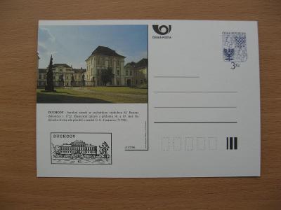 ** CDV A 37/96 - DUCHCOV - barokní zámek se sochařskou výzdobou -popis