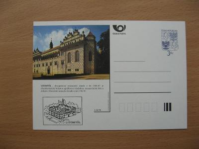 ** CDV A 40/96 - LITOMYŠL - renesanční zámek z let 1568-87 - popis