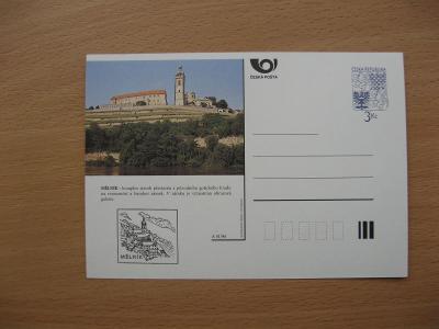 ** CDV A 41/96 - MĚLNÍK - původní gotický hrad přestavěn na zámek