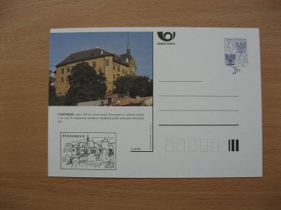** CDV A 46/96 - ŠTERNBERK - původně přes 700 let starý hrad - popis