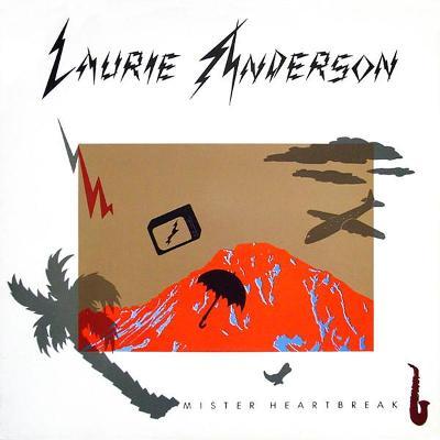 🎤 LP LAURIE ANDERSON   – Mister Heartbreak /1984 /VG++