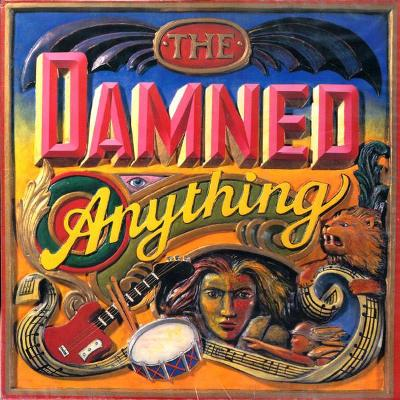 🎤 LP  The DAMNED– Anything /1986