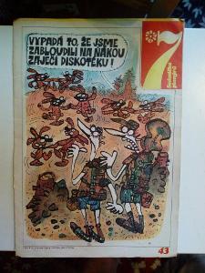 Časopis, Sedmička, č. 43/1989, zachovalý stav