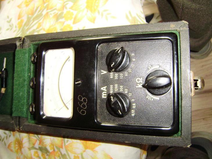 Měřící přístroj DU 10 - Elektronika