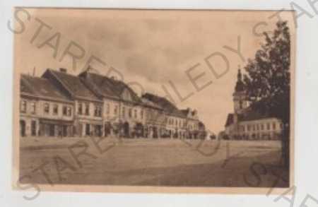 Moravské Budějovice (Třebíč), náměstí, obchod, kos