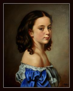 Obraz Portrét Dívky