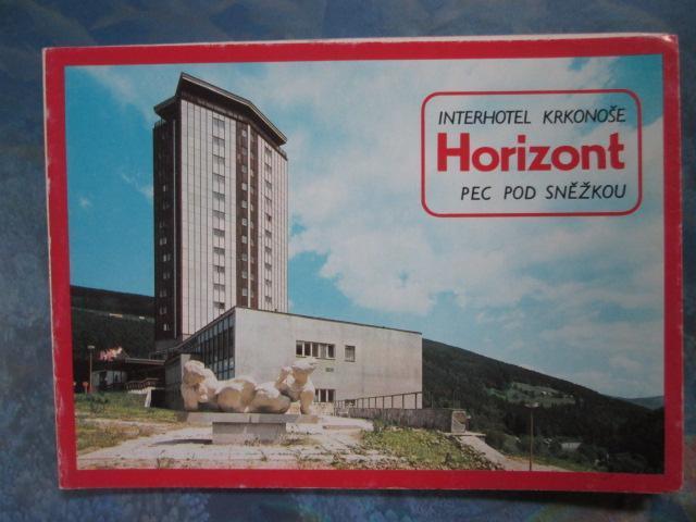 KRKONOŠE - skládačka - Pec pod Sněžkou - interhotel Horizont ... - Pohlednice