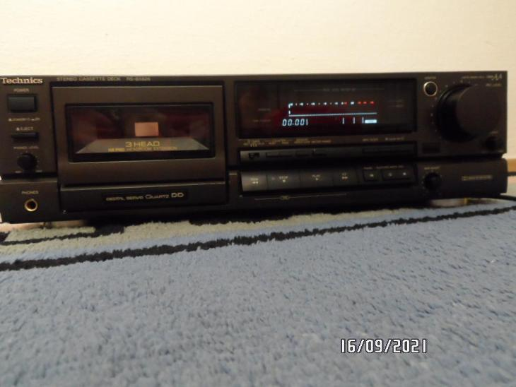 Kazetovy magnetofon TECHNICS RS-BX626 - TV, audio, video