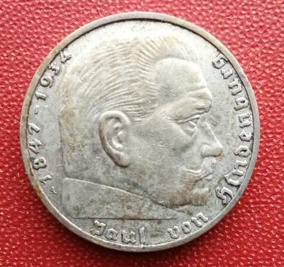 2 RM Hindenburg 1937 A
