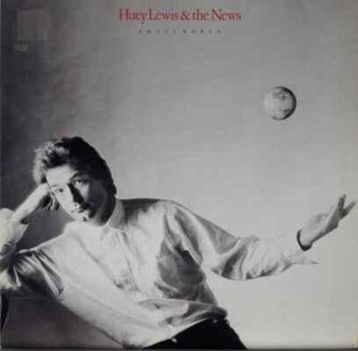 LP Huey Lewis & The News - Small World, 1988 EX