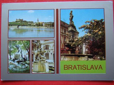 BRATISLAVA Dunaj Most SNP Slovensko