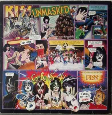 LP Kiss - Unmasked, 1980