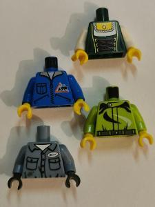 Lego dílky figurky