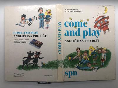 Výprodej dětských knih! COME AND PLAY Angličtina pro děti z roku 1990