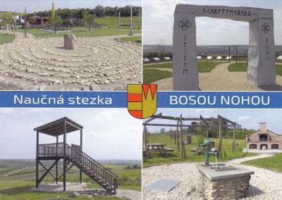 3. naučná stezka BOSOU NOHOU u Valtic
