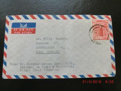 Pakistan Air mail