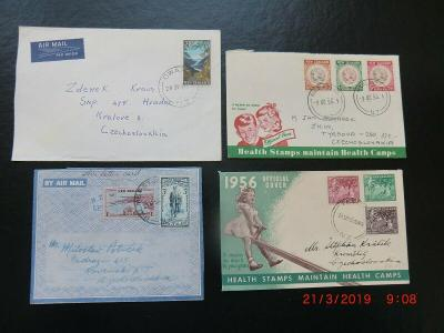 New Zealand celistvosti do Československa
