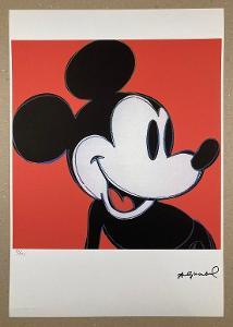 ANDY WARHOL * MICKEY * 85/125 * ©Andy Warhol