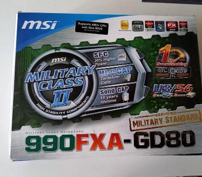 Základová deska MSI 990FXA-GD80