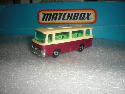 Matchbox SETRA Coach. r.1970 ENGLAND!!