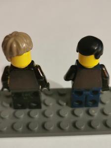 Lego dílky vlasy