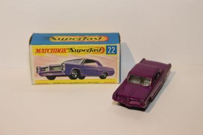 Matchbox SF No.22 Pontiac coupe