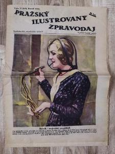 PRAŽSKÝ ILUSTROVANÝ ZPRAVODAJ - číslo 17 ročník 1933