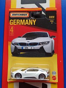 BMW i8 Germany MB 4/12 Matchbox