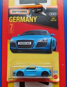 Audi R8 2007 Germany MB 7/12 Matchbox