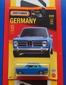 BMW 2002 1969 Germany MB 9/12 Matchbox